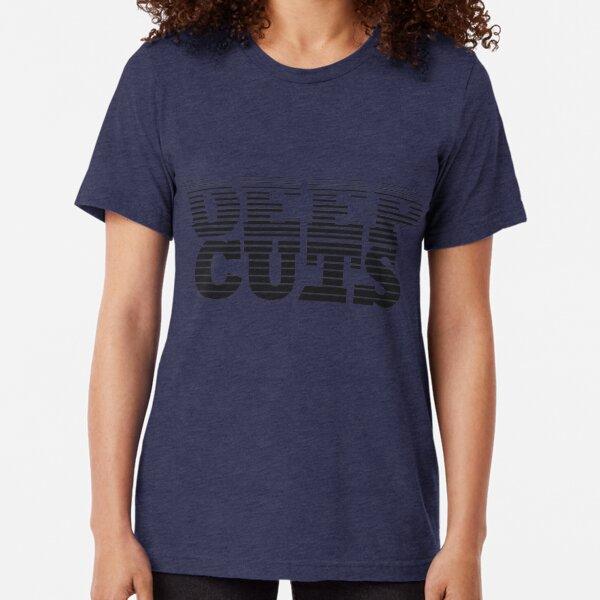 DEEP CUTS Tri-blend T-Shirt