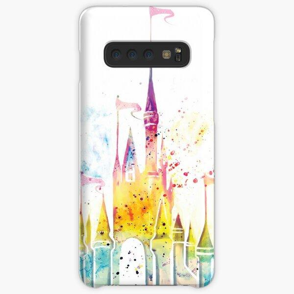 Watercolor Princess Castle Samsung Galaxy Snap Case