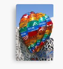 Recycled................. Canvas Print