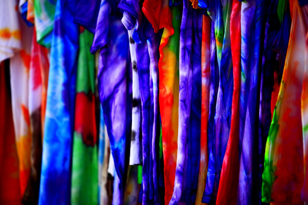 Tie Dyed... by Paul Manning