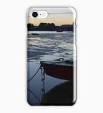 Mudeford at dusk - Dorset iPhone Case/Skin