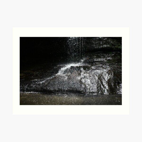 Pool of Siloam Waterfall Art Print