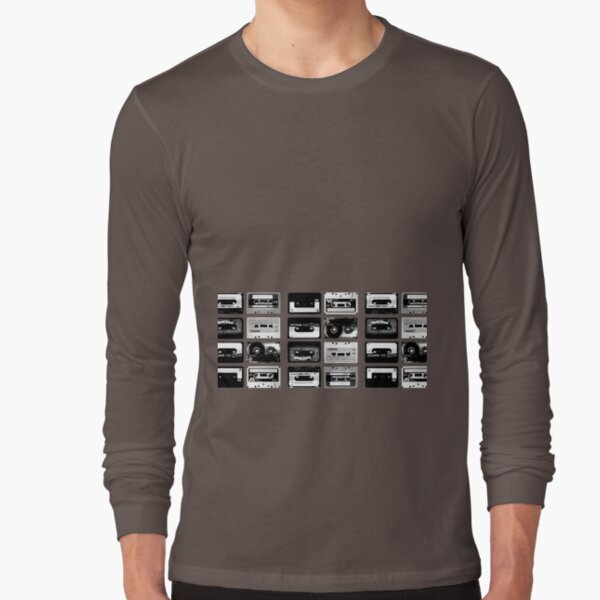 I know the tapes are here Long Sleeve T-Shirt