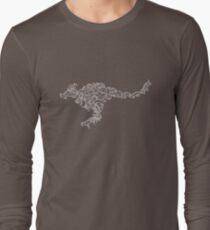 Marsupials - White and Black - Evolution Long Sleeve T-Shirt