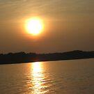 LAKE ANNA AT  SUNSET by Debra Willis
