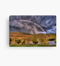 Stormy Surprise Canvas Print