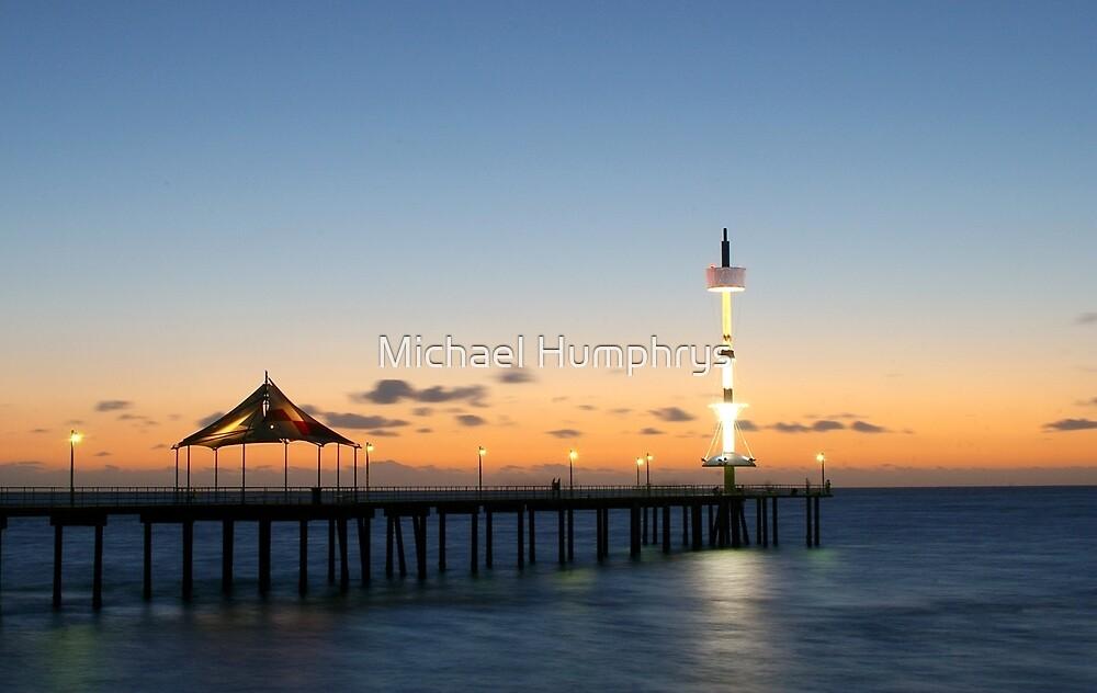 Brighton Jetty, South Australia by Michael Humphrys