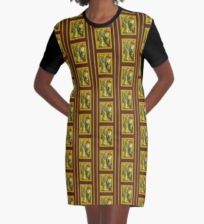 Winters Cactus Graphic T-Shirt Dress