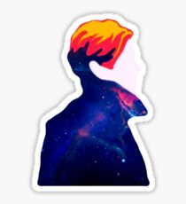 DAVID BOWIE - THE MAN WHO FELT TO EARTH Sticker