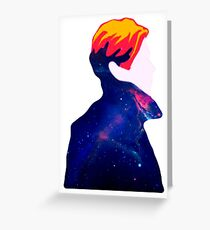 DAVID BOWIE - THE MAN WHO FELT TO EARTH Greeting Card