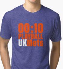 UKMets PLAYBALL Tri-blend T-Shirt