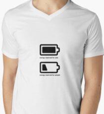 Energy Reserves Men's V-Neck T-Shirt