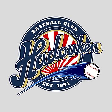 Hadouken Baseball Club by monochromefrog