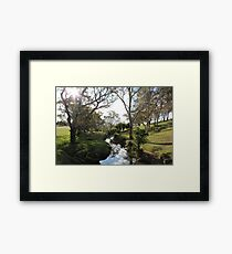 Williams Road, Mount Barker, South Australia Framed Print