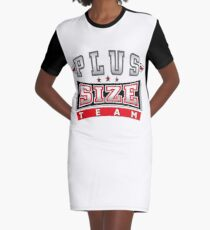 PLUS SIZE TEAM RED Graphic T-Shirt Dress