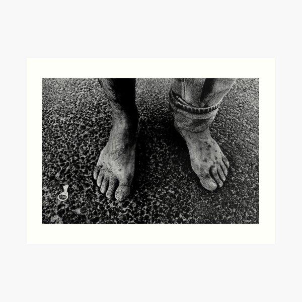 Feet of an Italian Art Print