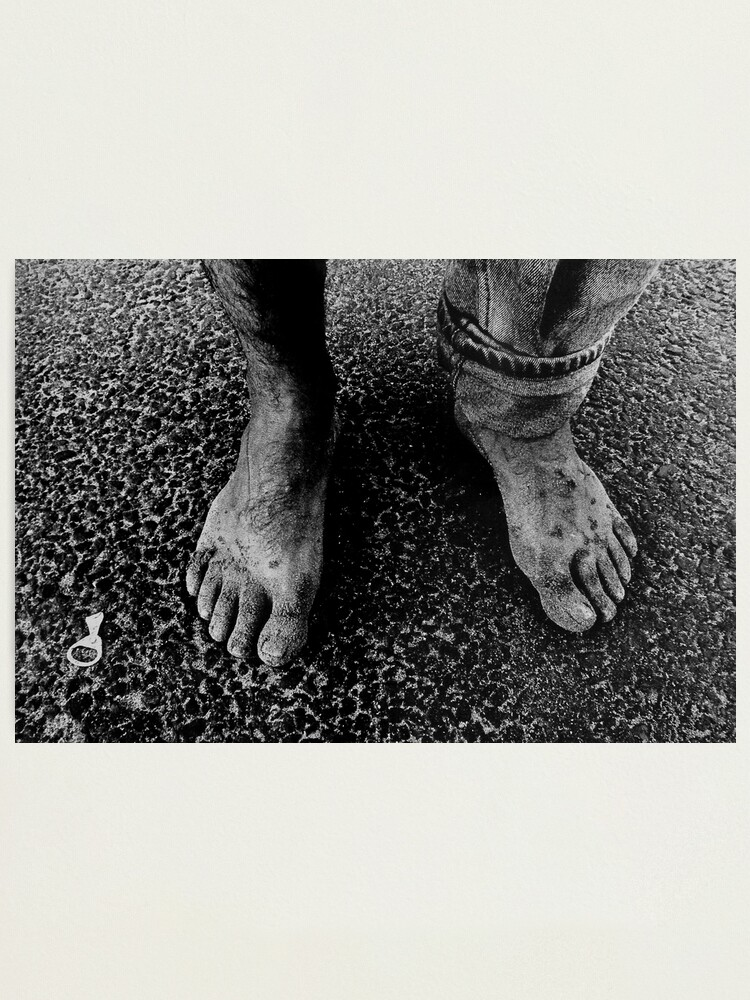 Alternate view of Feet of an Italian Photographic Print