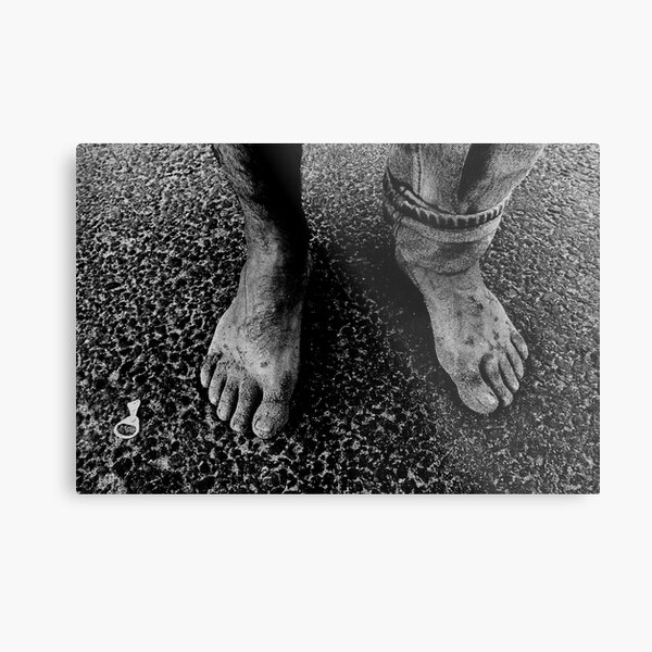 Feet of an Italian Metal Print