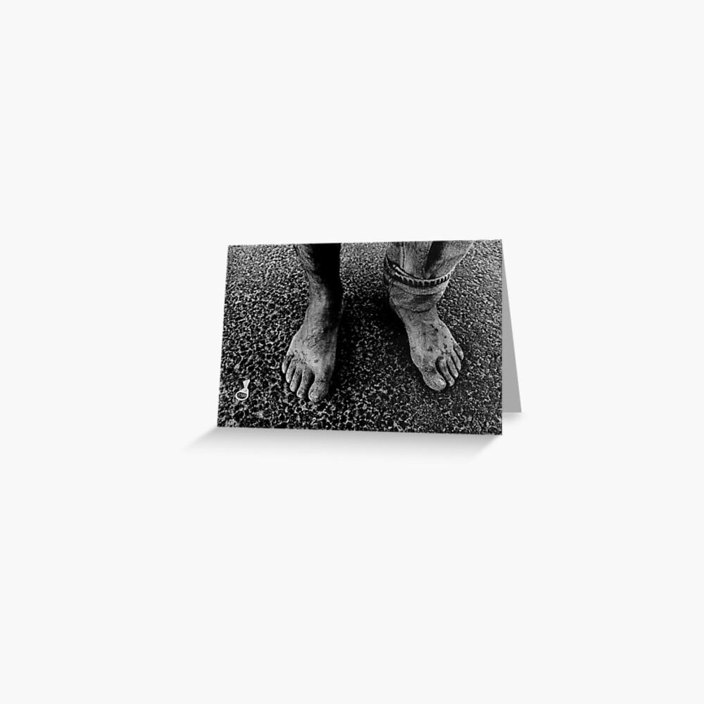 Feet of an Italian Greeting Card