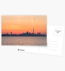 Smoking Hot Toronto Skyline Postcards