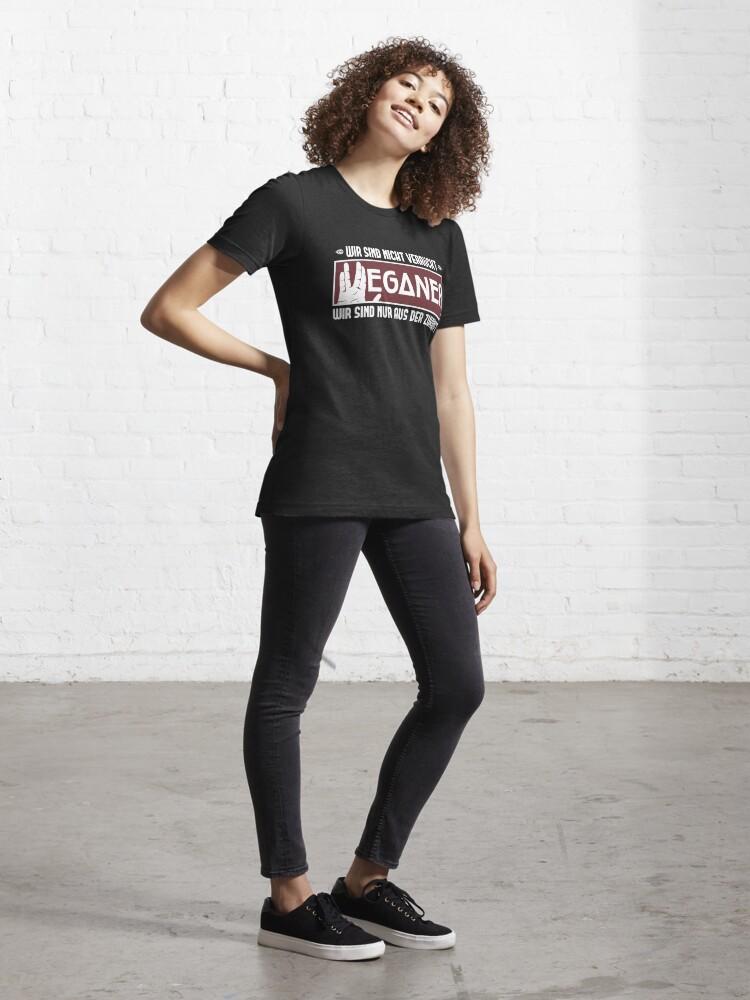Alternate view of Veganer sind aus der Zukunft - Lustiger Veganer Spruch Geschenk Essential T-Shirt