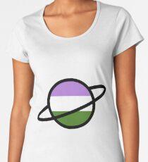 Genderqueer Planet Women's Premium T-Shirt