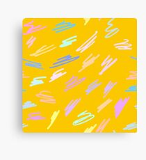 Kids Squiggles Canvas Print