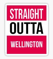 Wellington Sticker