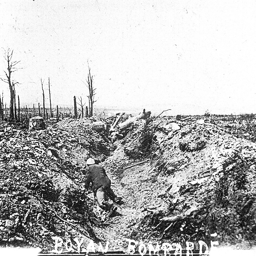 Unpublished 08 (n&b)n(t)  1915 (on the front photographs ever published 1914-1918 war photos and Tribute to my 2 great Uncles Clerté-Fayolle died in 1915  by . Okaïo