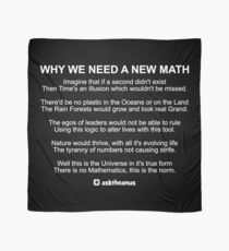 Why We Need A New Math Scarf