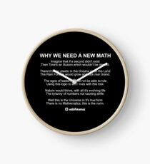 Why We Need A New Math Clock
