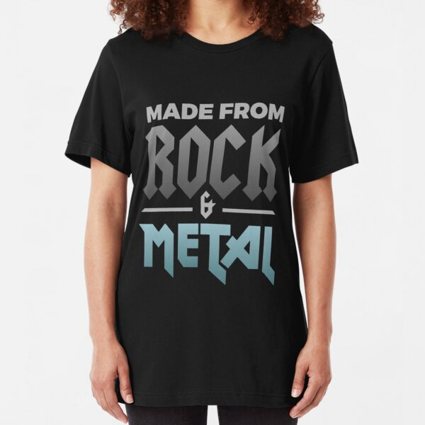 Rock and Metal Shirt Slim Fit T-Shirt