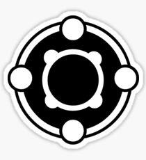 Powerfour Crop Circle Sticker