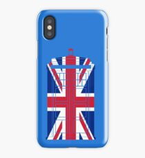 Tardish Flag iPhone Case/Skin