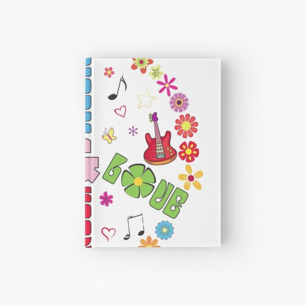 Peace and Love Hardcover Journal