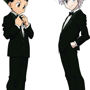 Hunter X Hunter HxH Hunter GON KILLUA IN SUITS  ANIMES  by MindRich1