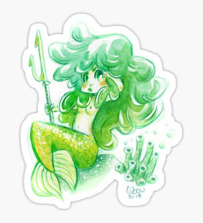 Petite sirène chibi Sticker