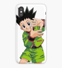 Hunter X Hunter HxH GON SIGNE  iPhone Case