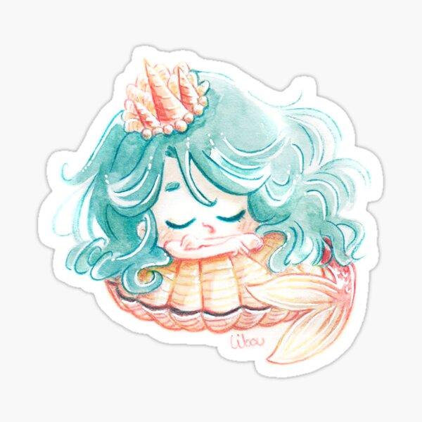 Chibi princesse sirène Sticker