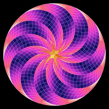 Hex Star Spiral Ball by Girih
