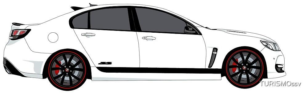 Holden Commodore SSV Redline Side shot