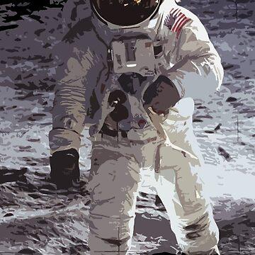 Buzz Aldrin by MyAbilityCPO