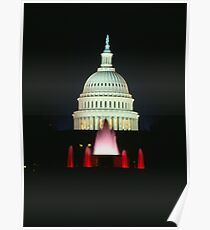 Capital Fountains Poster