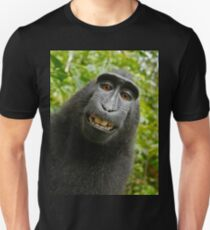 Monkey Selfie Slim Fit T-Shirt