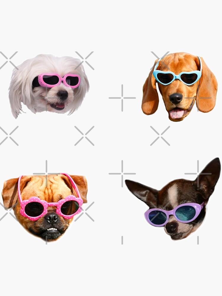 Pegatinas Doggo: Gafas De Sol # 4 de Elisecv