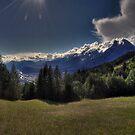 heavenly sunrays by Stefan Trenker