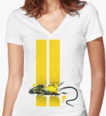 Roadkill Women's Fitted V-Neck T-Shirt