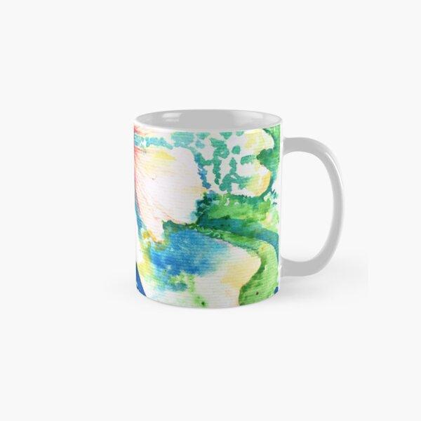 Aqua blooms Classic Mug