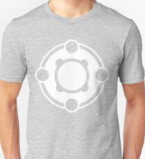 Powerfour Crop Circle white T-Shirt