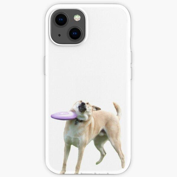 Frisbee Dog iPhone Soft Case